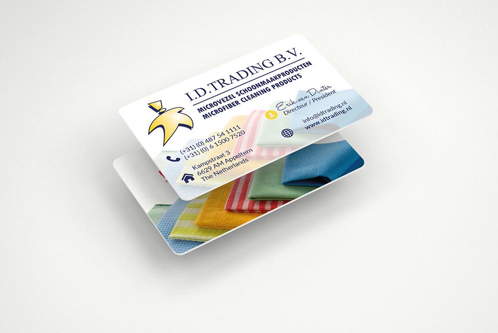 plastic visitekaartjes